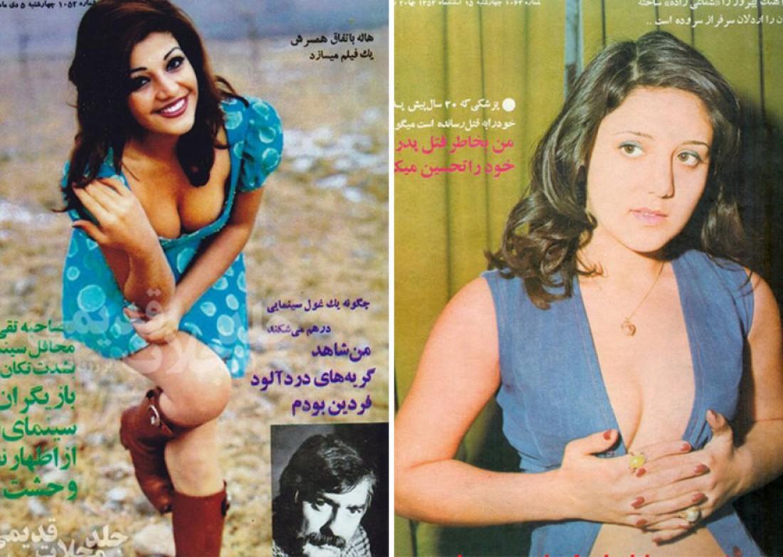"""Восточная """"эротика"""": фото иранских моделей 1970-х"""