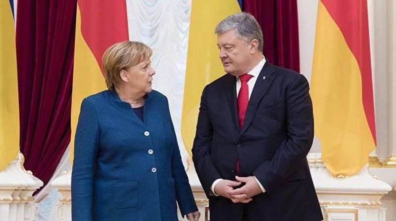 """Порошенко предложил Меркель украинскую ГТС вместо """"Северного потока-2"""""""