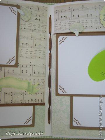 Мастер-класс Скрапбукинг День рождения Аппликация МК Этапы создания скрап альбома от А до Я  Бумага фото 88