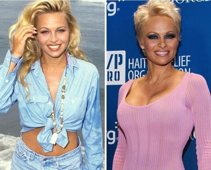 7. Памела Андерсон (Pamela Anderson), в роли Си.Джей. Паркер (C.J Parker)  Спасатели малибу, кино