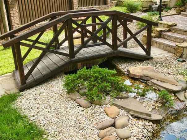 Как сделать деревянный мостик фото 341