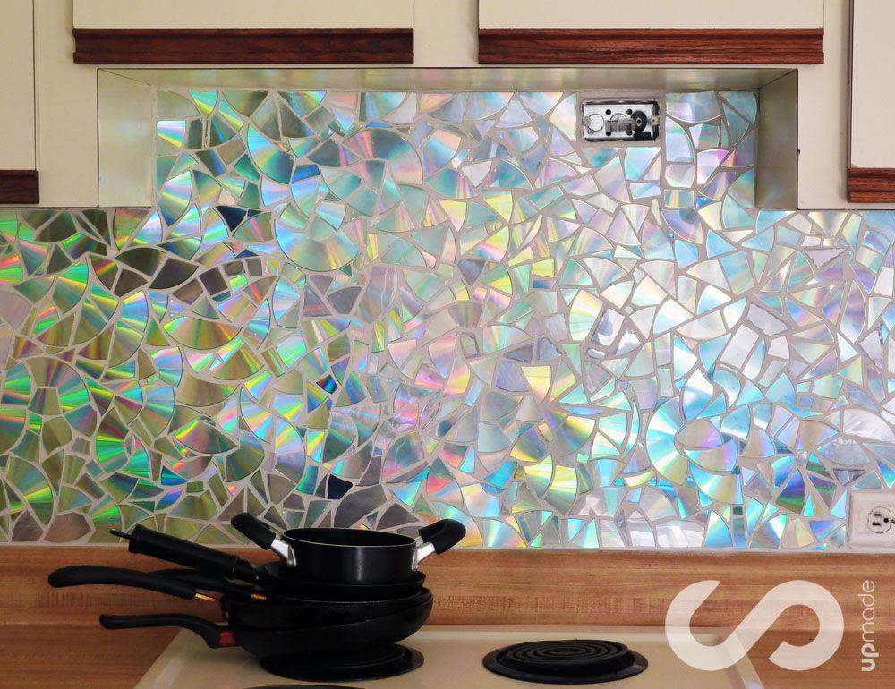 Декор стен кухни своими руками с фото
