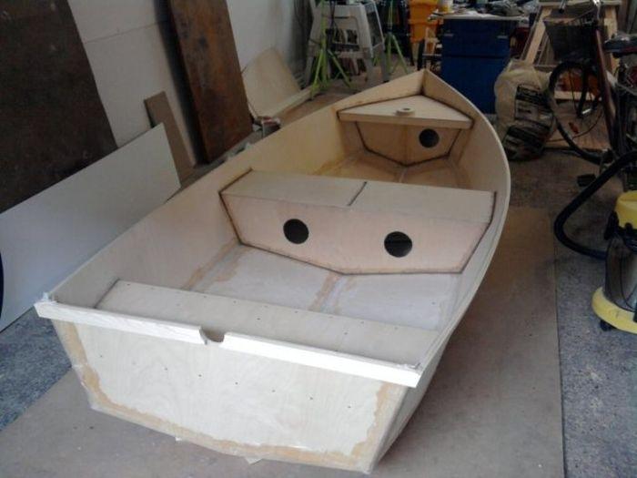 Лодка изготовить своими руками