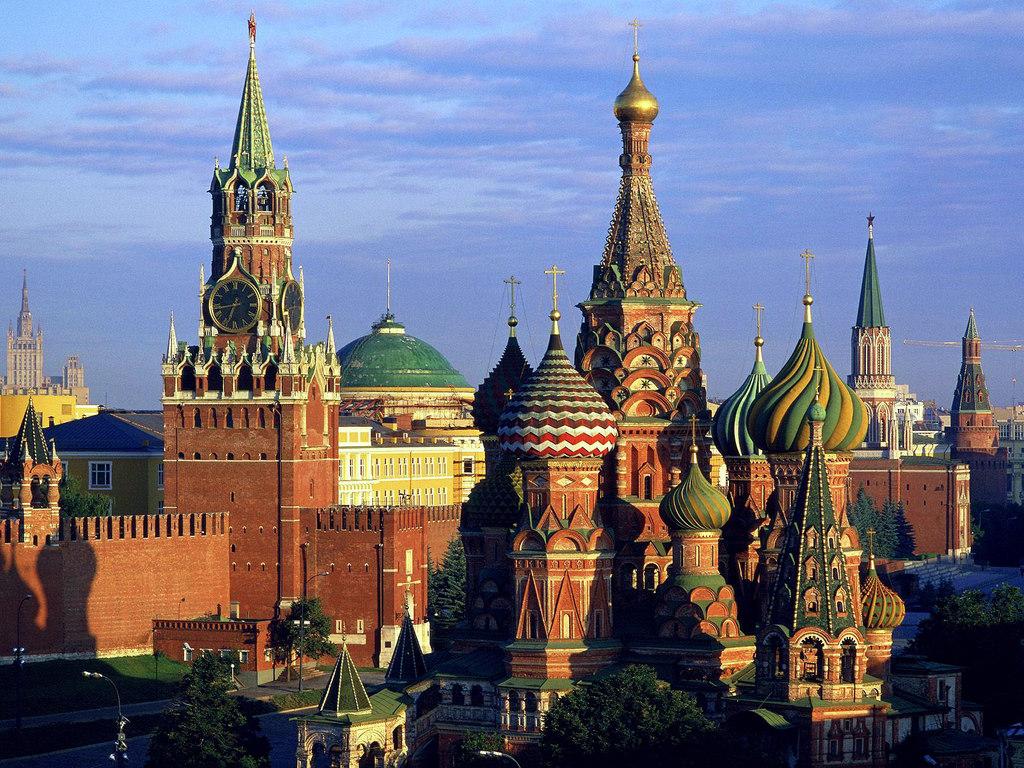 Сакральное сердце России - Московский Кремль.