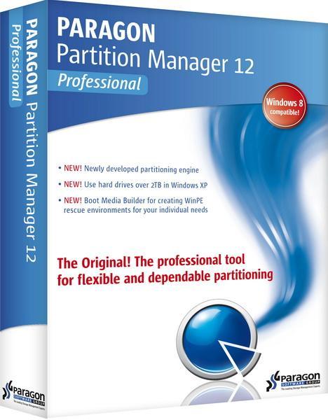 Paragon Partition Manager 12 Professional 10.1.19.15721 (Официальная русская версия!)