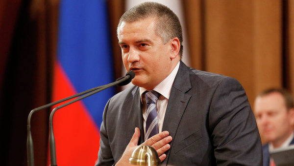 Аксенов: блокада Крыма напоминает сценарий комедийного мультфильма