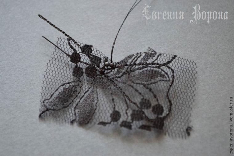насекомые, брошь своими руками