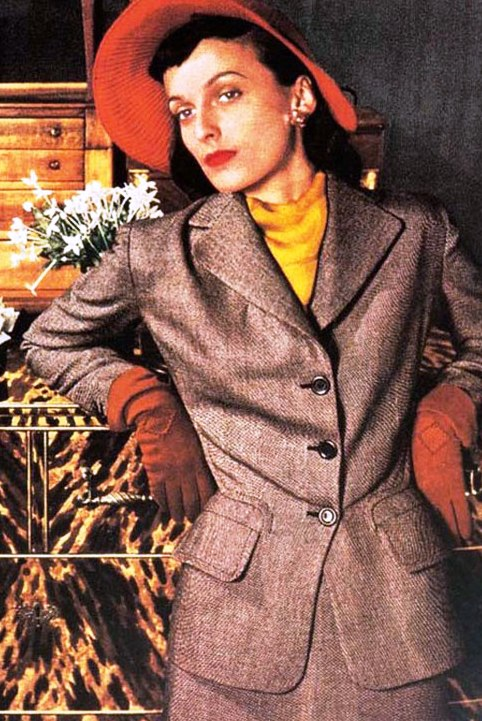 Мода и причёски 1940-х годов