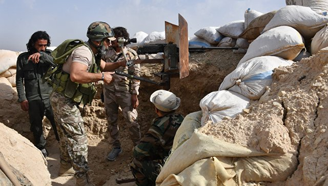 Армия Сирии ликвидировала бо…
