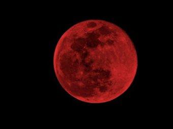 """о """"кровавой луне"""" и конце света 28 сентября 2015"""