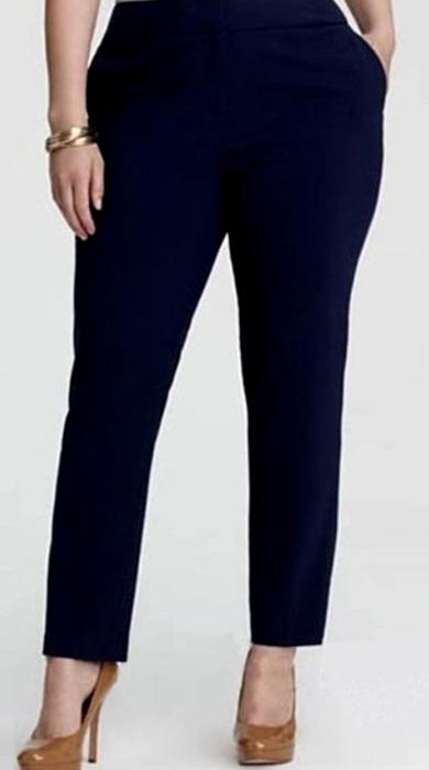 ИГОЛКА С НИТОЧКОЙ. Шьём узкие брюки на 54 размер
