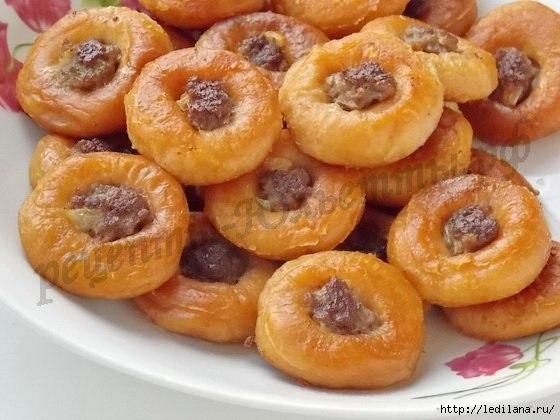 Мини-беляши из сушек: быстрое и вкусное дачное блюдо