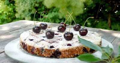ЗДРАВОТДЕЛ. Вишнёвый пирог для больных диабетом