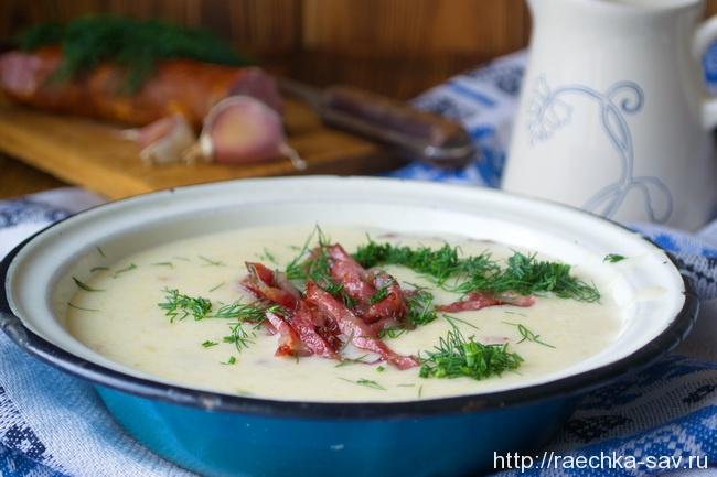 Белорусская тертюха - простой, но очень вкусный суп!