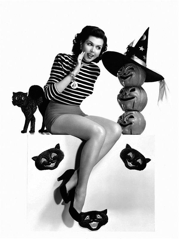 Ретро Хэллоуин.