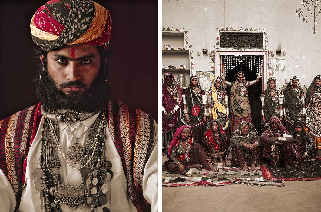 Племена разных стран в объективе фотографа