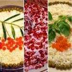 Салат «Ягоды на снегу» (подборка)