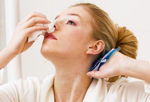 Кровь из носа — симптом опасной болезни