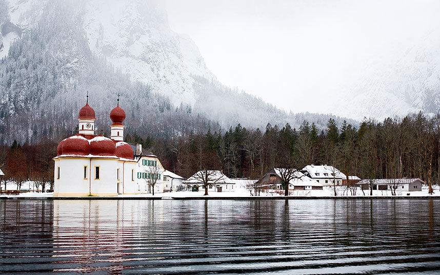 Санкт-Варфоломея, Озеро Кенигзее.