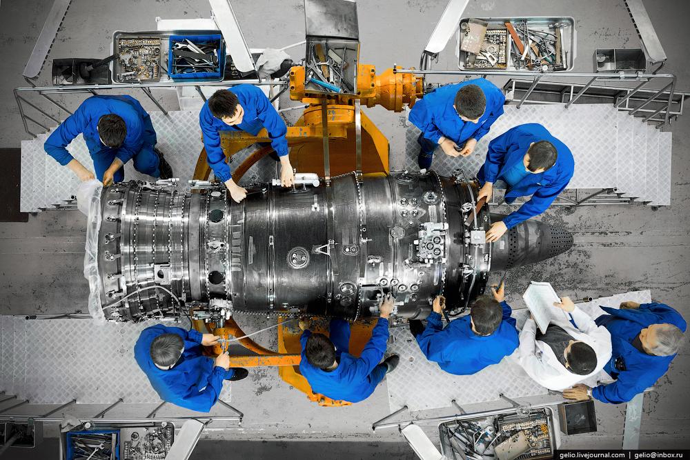 Производство авиадвигателей. Уфимское моторостроительное производственное объединение (УМПО)