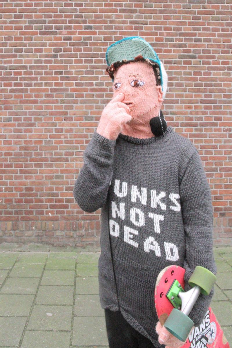 Дотронься до носа! вязание, нидерланды, пубертат, рукоделие