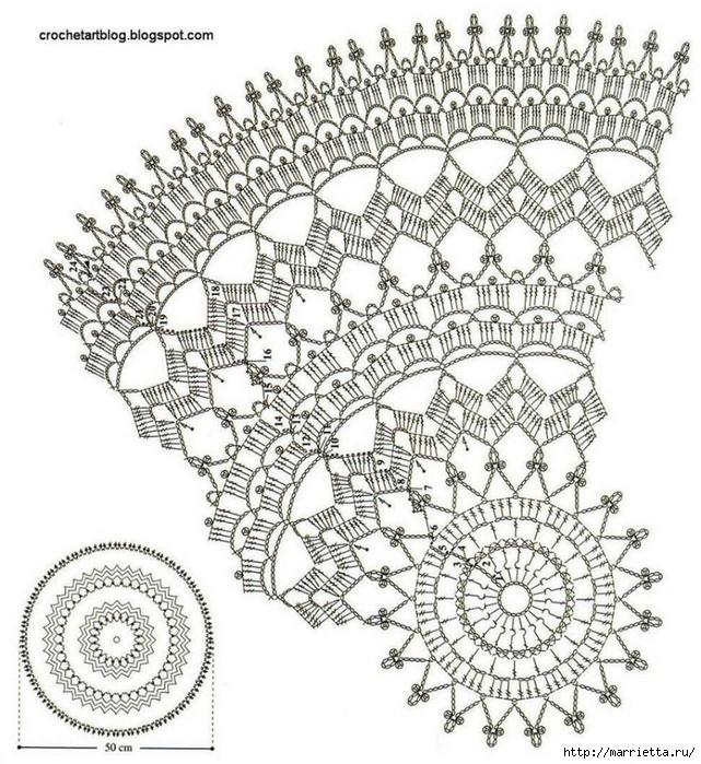 Схема вязания цветка крючком для начинающих с пошагово 122
