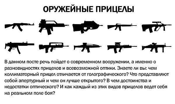Оружейные прицелы