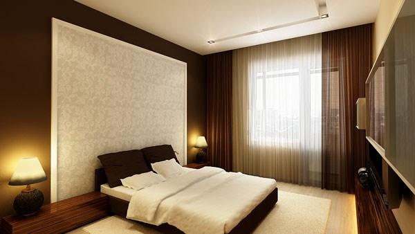 Идеи для покраски стен в спальне