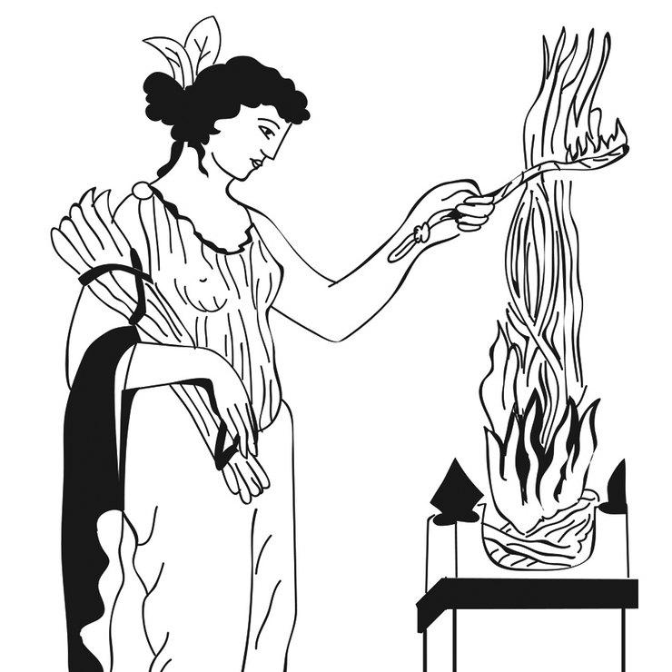 Какая греческая богиня соотв…