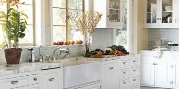 Белые кухни-11