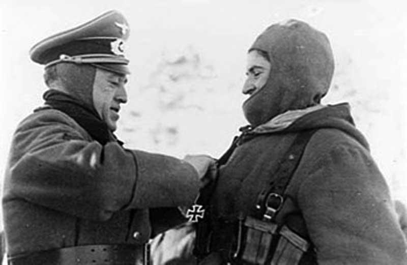 Испанцы на Восточном фронте в годы ВОВ