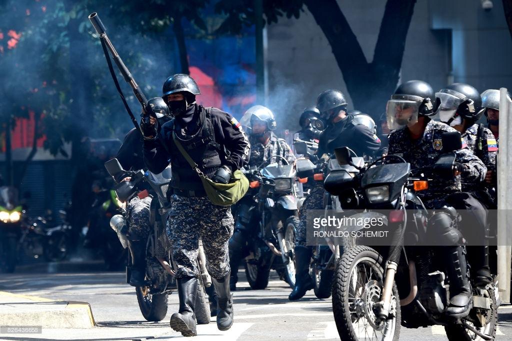 Чё там у венесуэльцев? Уличная война!
