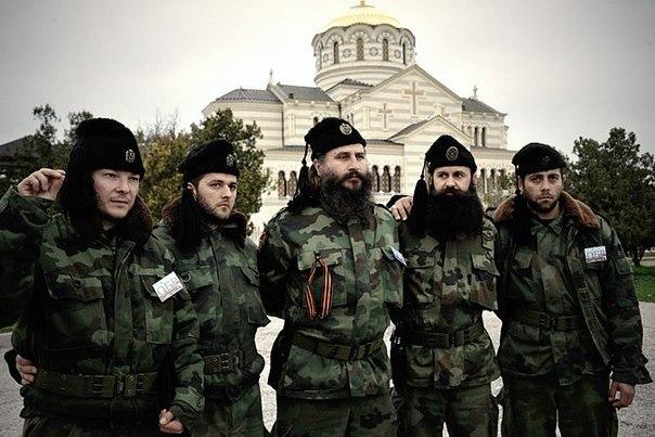 Сербские добровольцы уничтожили технику украинских карателей в ДНР
