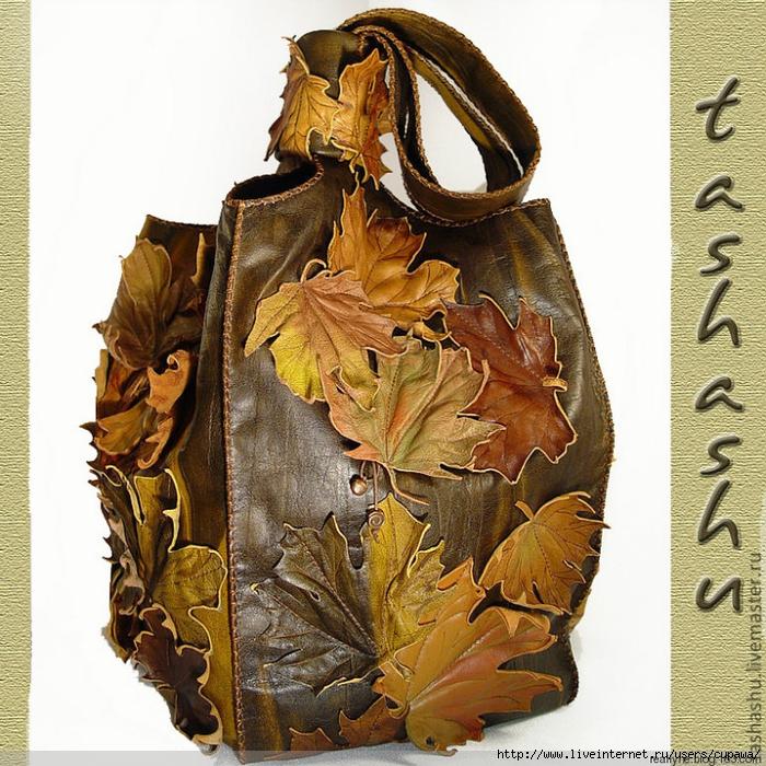 Декор кожаной сумки своими руками фото 24