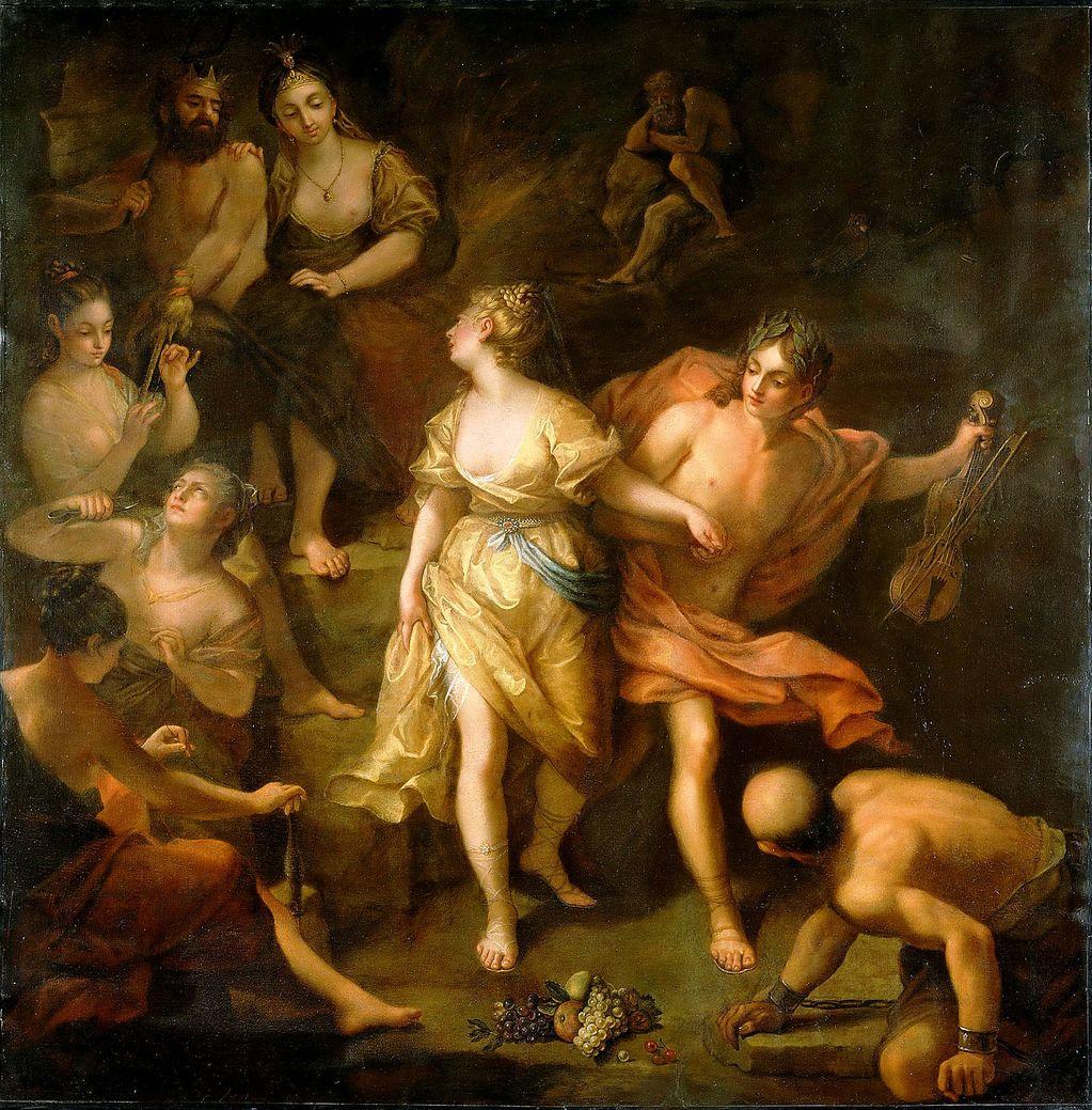 Орфей и эвридика картины