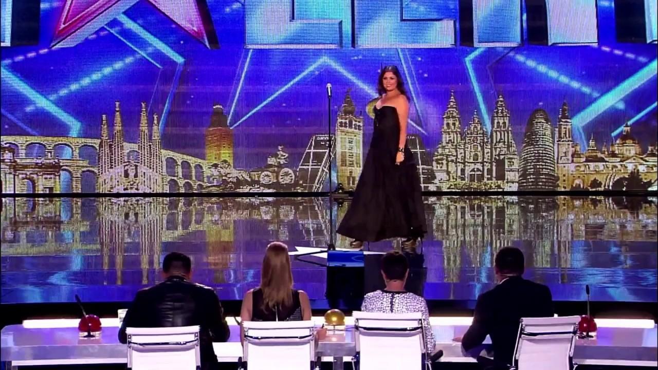 25 000 000 просмотров! Когда оперная певица сорвала с себя платье, судьи ахнули от восторга