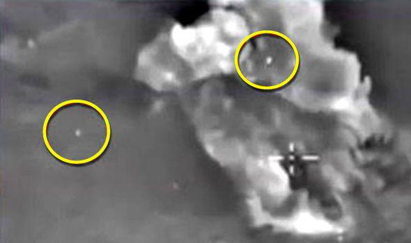 СМИ: НЛО следят за операцией российских ВКС в Сирии