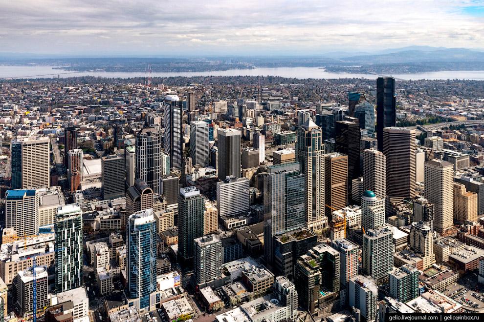 Центральный Деловой район Сиэтла (Downtown Seattle).
