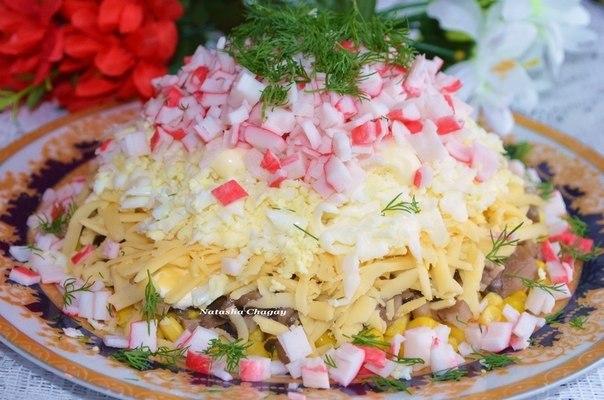 В предверии Нового года . Сборник салатов и закусок