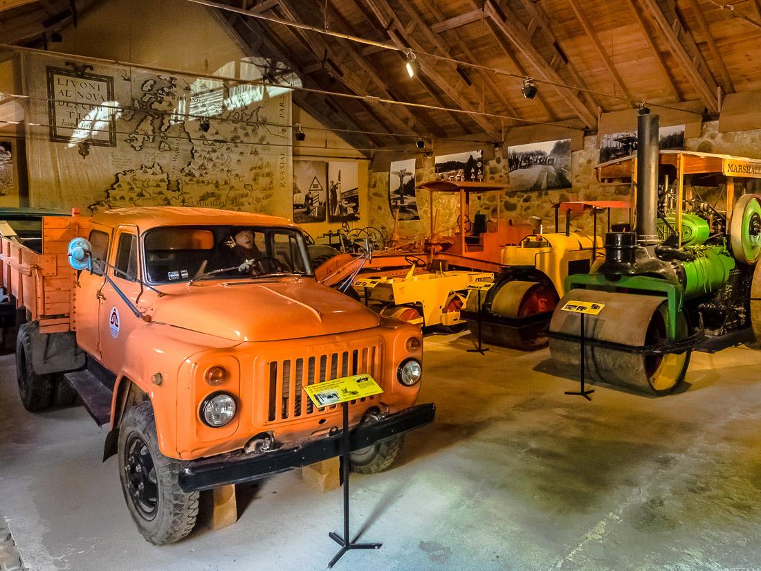 Музей дорожной техники в Латвии