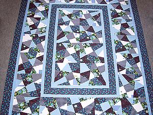 Лоскутное одеяло. Техника крейзи для начинающих. | Ярмарка Мастеров - ручная работа, handmade