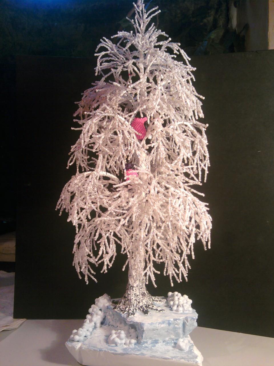 Как сделать снежный цветок