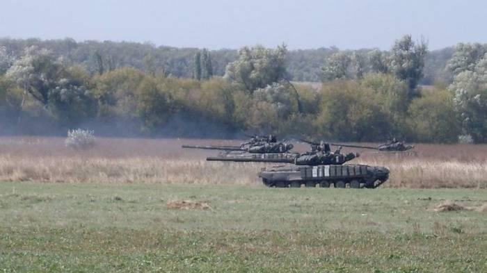 Украинские танкисты провели учения по стандартам НАТО