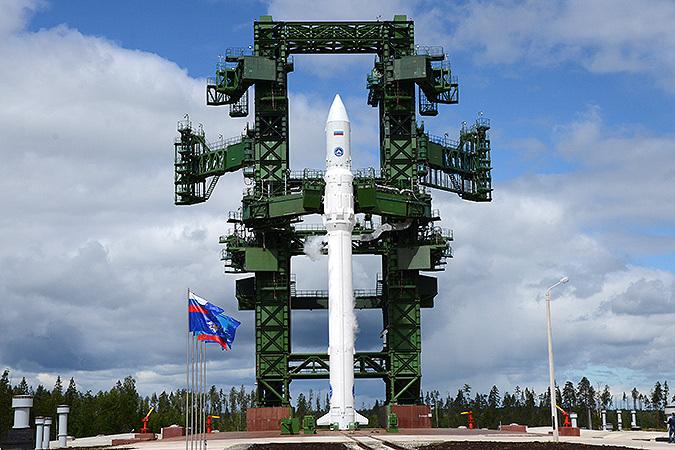 Ракету-носитель «Ангара-А5» готовят к старту