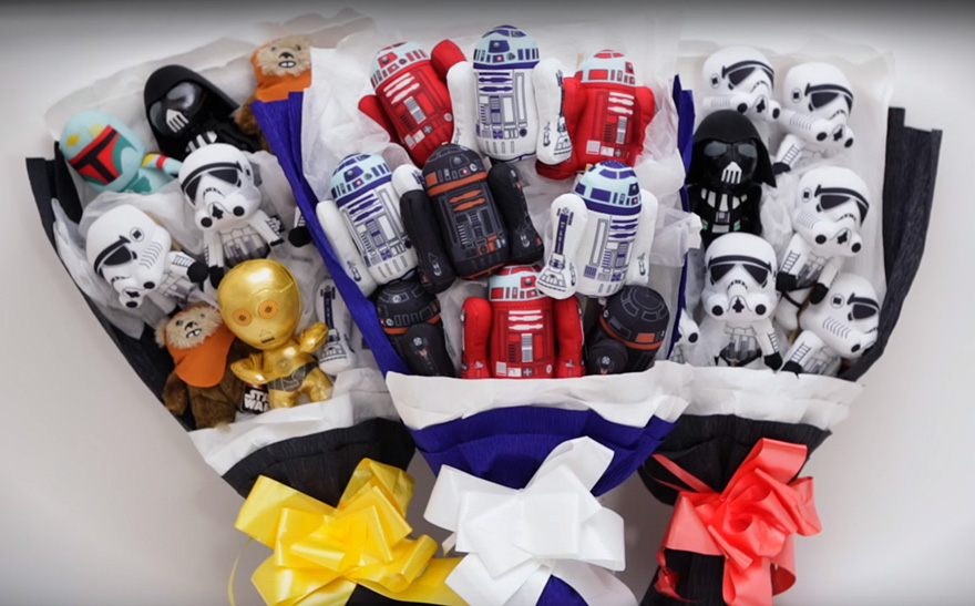 Forget Flowers, There's A Star Wars Bouquet For Valentine's Day