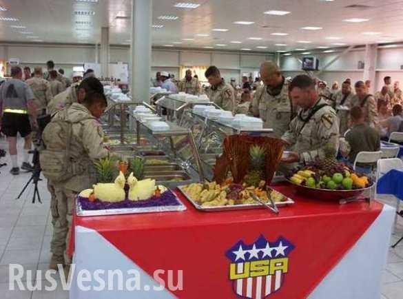 Американские инструктора и нацгвардия Украины: «белые сахибы» должны питаться лучше «туземцев»