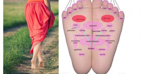 Что происходит с вашим телом, когда вы начинаете ходить босиком 5 минут каждый день