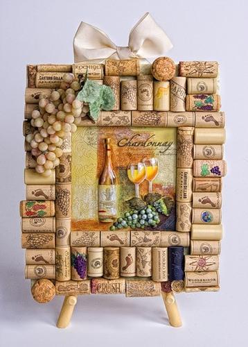Декора из винных пробок