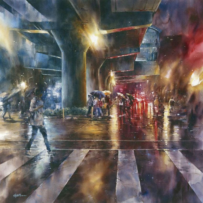 Тайваньский художник Лин Чинг