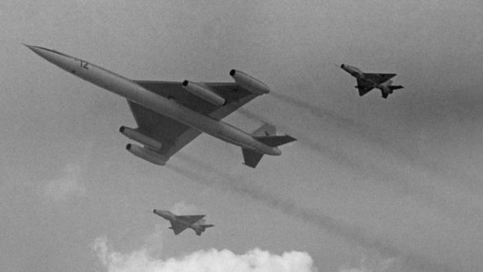 Точечный старт для реактивных самолётов